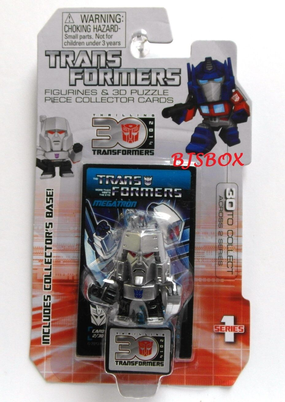 Transformers 15 15 15 Figure Set Series Figurines & 3D Puzzle Collector Cards New b6c4ea