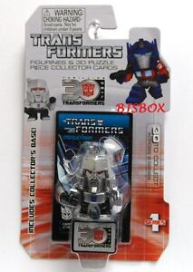Megatron #2 Series 1 Transformers Figurines & 3D Puzzle Collector Cards New