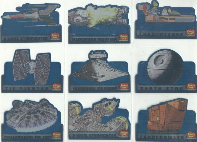 Family Guy Star Wars ANH Scenes From Space Chase Card S-2