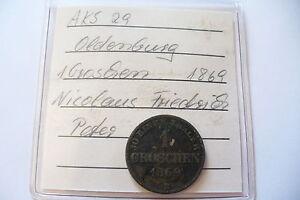 Ancienne Monnaie - Allemagne - 1 Groschen 1869 B - Bel Etat !!(20/04/16)