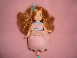 2005-MATTEL-BARBIE-Kelly-Spinning-Ballerina-Pink-Dress-Replacement-Doll