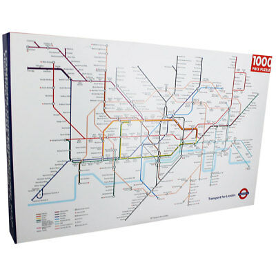 Transport For London Map.Tfl Transport For London Underground Map 1000 Pieces Jigsaw Puzzle Ebay