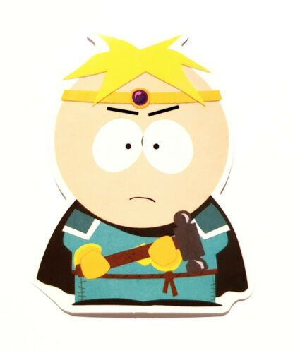 SOUTH PARK Butters Decal Waterproof Removable Sticker Tablet Laptop 3DS Vehicle