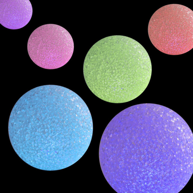 Ball Kugel Lampe Stimmungslampe Leuchte LED Leuchtkugel 12 cm mit Farbwechsel