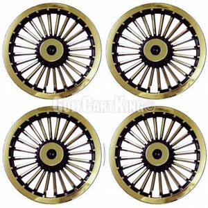 New 8 Golf Cart Wheel Covers Hub Caps Ezgo Set Of 4 746839688018