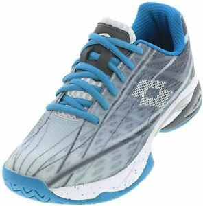Lotto-Mirage-300-SPD-Size-10-Men-039-s-Tennis-Shoes-Silver-210734-58J-MIRAGE