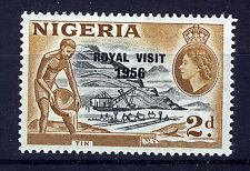 NIGERIA 1956 ROYAL VISIT  MNH