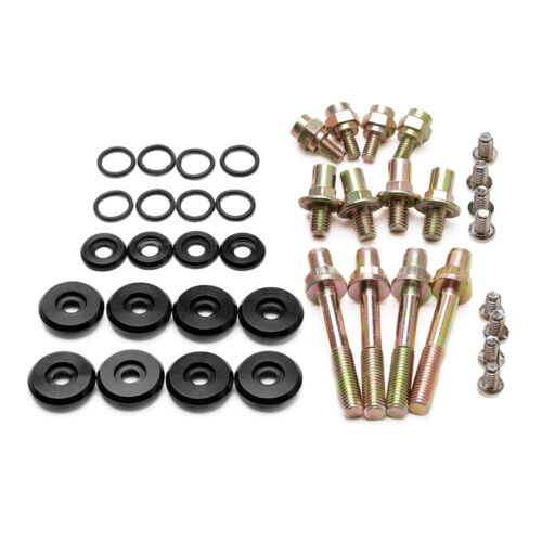 Black Engine Valve Cover Dress Washer Bolt Kit for Honda Civic for Acura Integra