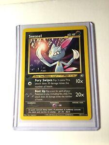 Pokemon Card SNEASEL Neo Genesis Set NM Rare Unlimited 25//111