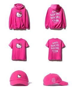 8e6fef8b7a320 ASSC X Hello Kitty Bundle Size Small Anti Social Social Club in Hand ...