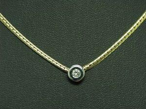 14kt-585-Bicolour-Gold-Necklace-with-Brilliant-Decorations-Diamond-5-5g-38-CM