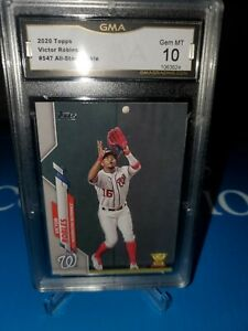 GMA-10-MINT-2020-Topps-Series-2-Victor-Robles-Rookie-Cup-Nationals-547