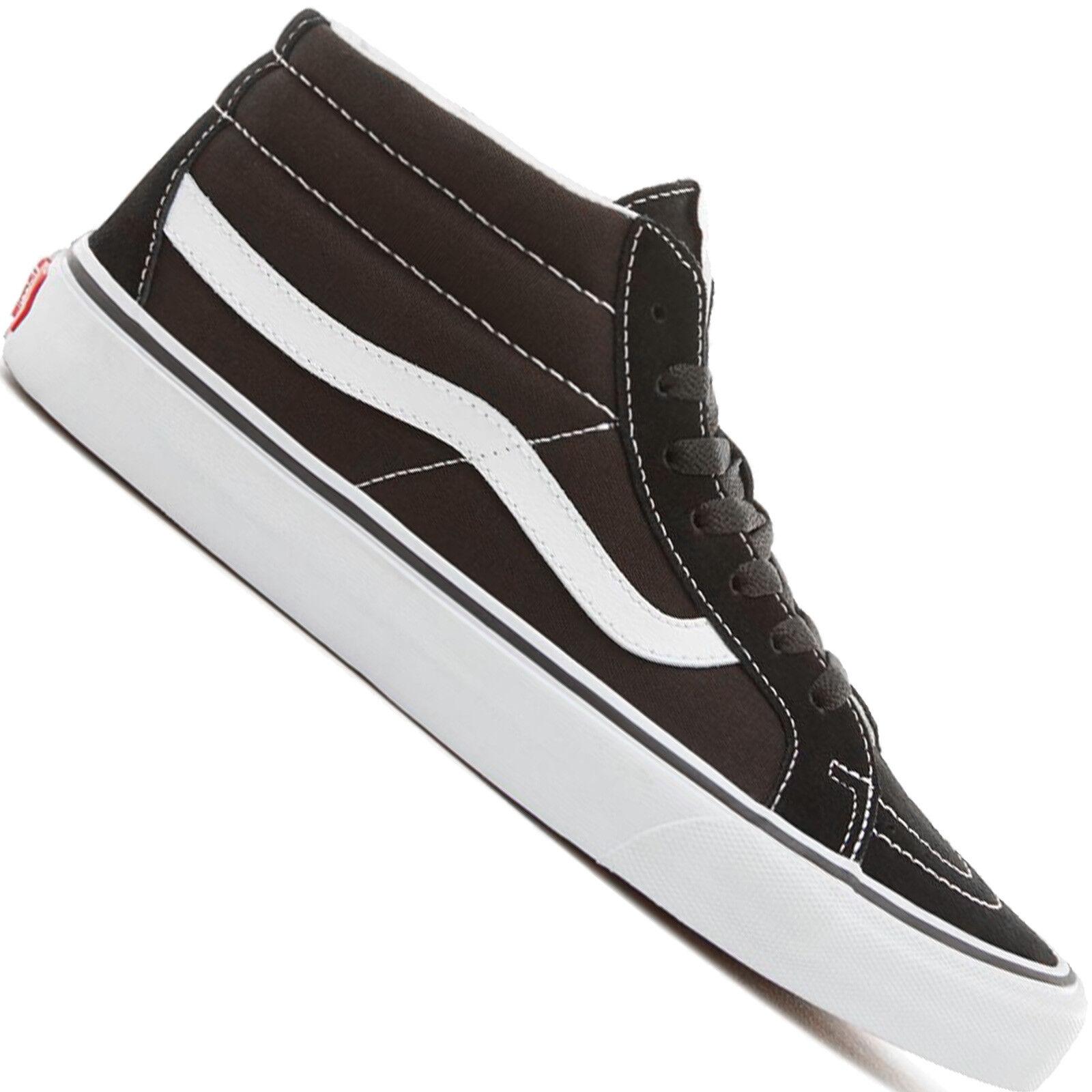 Vans Sk8-Mid Baskets Femmes Mid-Tops Chaussures de Patins Sport Skate Patins de Mi-Hauteur 959444