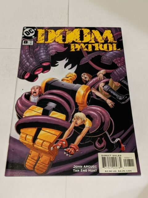 Doom Patrol #8 July 2002 DC Comics John Acudi Huat