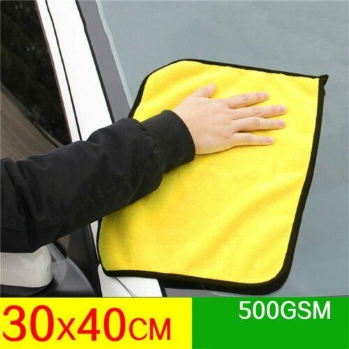 Car Wash Microfiber Towel Car Cleaning Drying Cloth Hemming