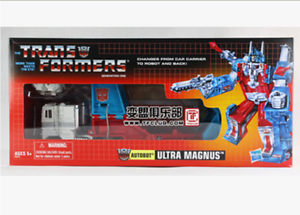 Hasbro transformers on the G1 ultra magnus and name Maggs entity spot
