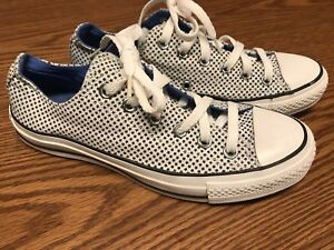 a961aca1619cb6 Converse All Star Galaxy Cosmo Low Top White Blue Sneaker Sz Mens 6 ...