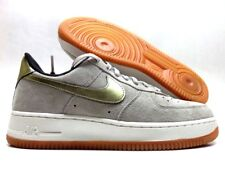 42a753d41f56b item 2 NIKE AIR FORCE 1  07 PRM SUEDE STRING METALLIC GOLD SZ WOMEN S 8.5   818595-200  -NIKE AIR FORCE 1  07 PRM SUEDE STRING METALLIC GOLD SZ WOMEN S  8.5 ...