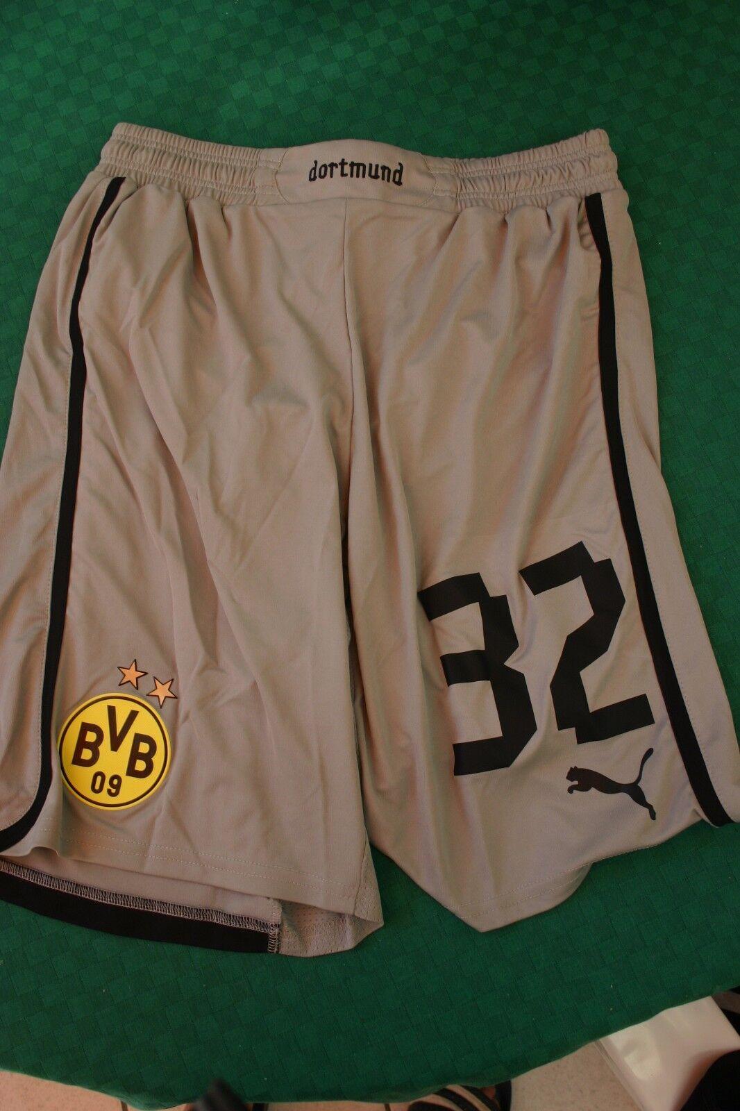 BvB Dortmund Spielerhose aus dem Mannschaftsfundus Bittencourt CL 12 12 12 13 Gr. M  | Hochwertige Produkte  567567