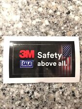 3m Dbi Sala Hardhat Sticker Fall Protection Usa Harness Safety Constr