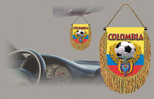 COLOMBIA SOCCER FLAG CAR MINI BANNER, PENNANT