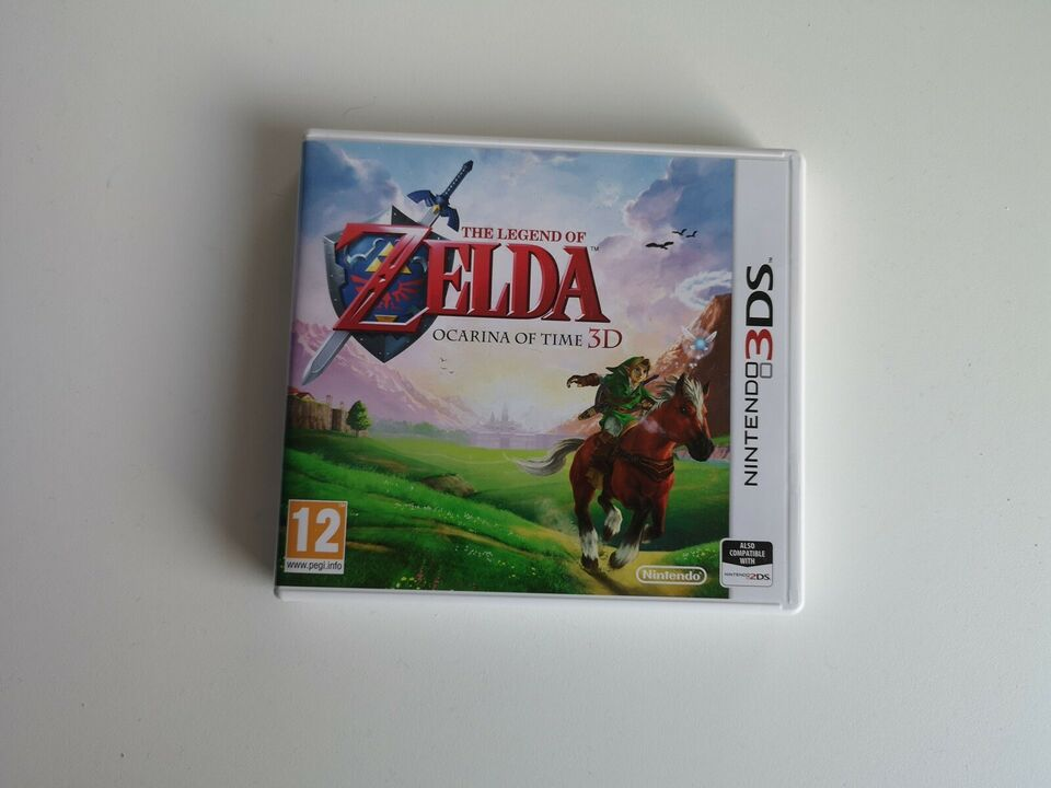 The Legend of Zelda - Ocarina of Time, Nintendo 3DS,