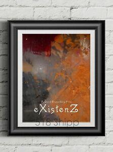 eXistenZ-David-Cronenberg-Art-Print-Movie-Poster-Jude-Law