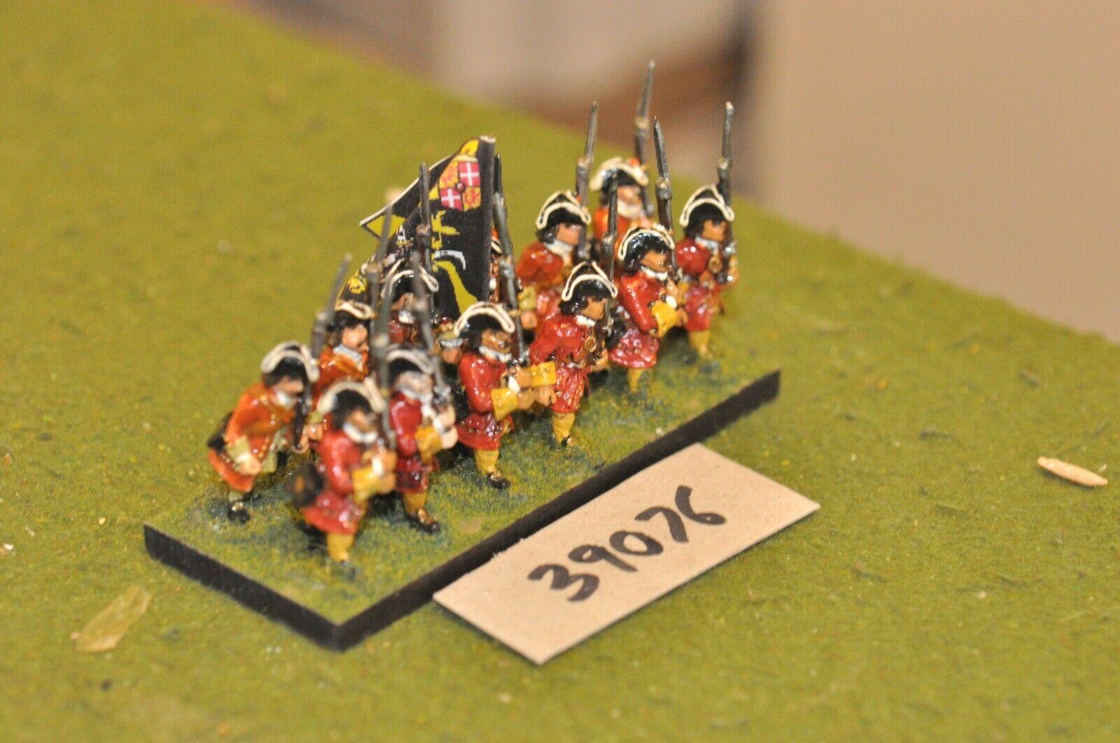 25mm marlburian holandés-Regimiento 12 figuras-INF (39076)