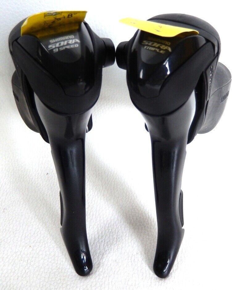 Pair of levers  shimano sora triple road st 3503 st 3500 9 speed new  outlet