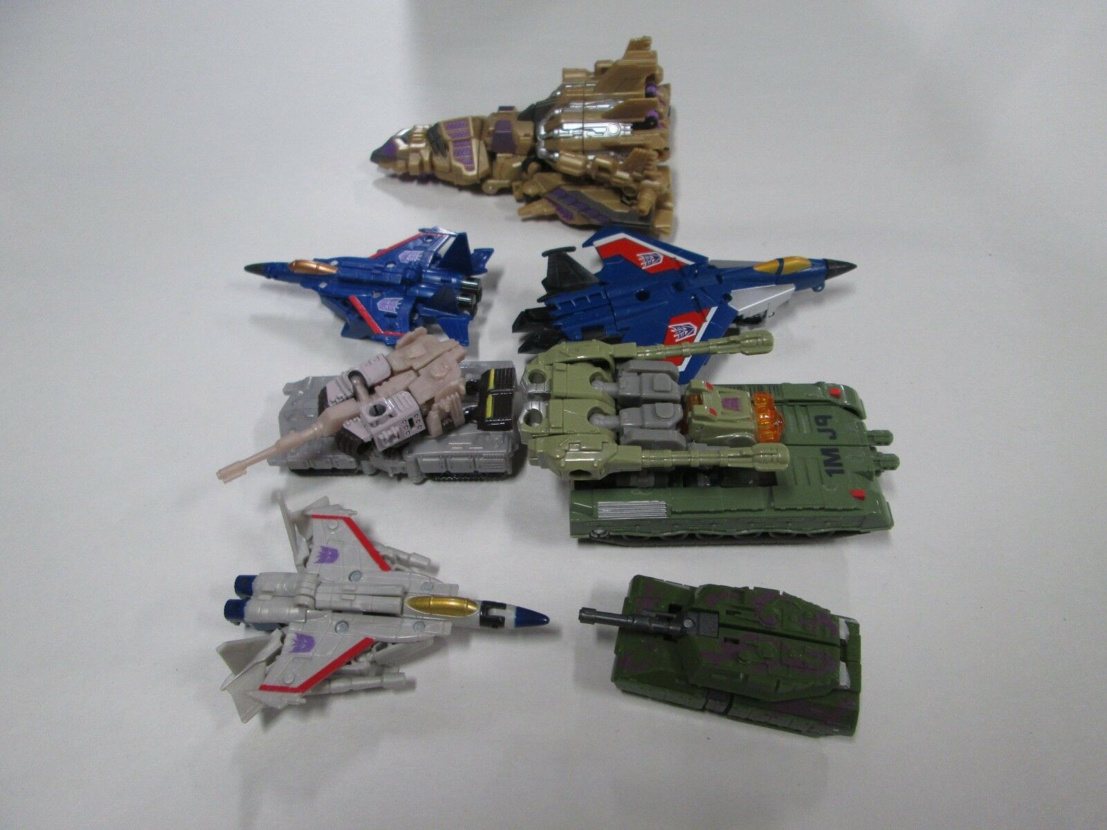 Lot of 7 Assorted Modern Transformers (37)