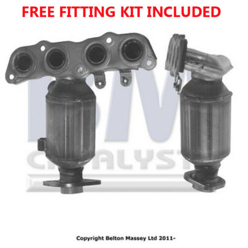 Fit with TOYOTA YARIS Catalytic Converter Exhaust 91403H 1.0 Fitting Kit Includ