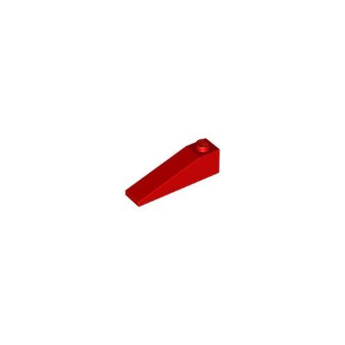 Lego® 2 x Schrägstein 1x4 Dachstein 18° rot *Neu* 60477