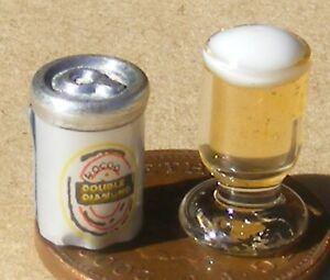 1 x Vaso de Cerveza de Casa de Muñecas 12LTH