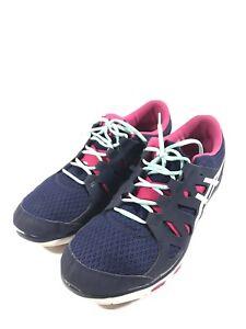 Details about Asics Multisport Training Gel Fit Temp Shoes Women's Size 10 Purple S464n Clean