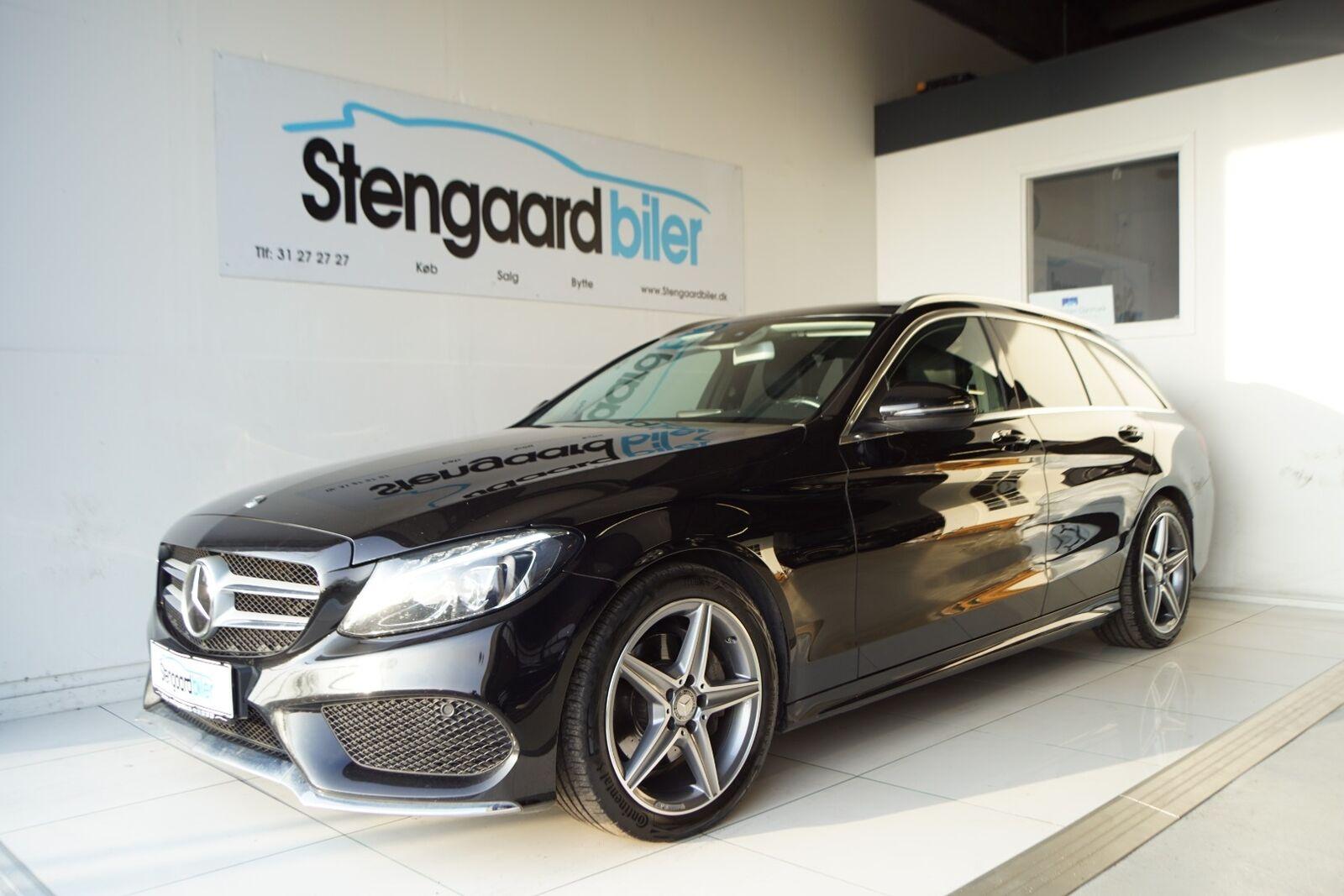 Mercedes C220 d 2,2 AMG Line stc. aut. 5d - 349.900 kr.
