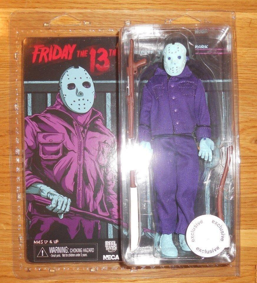 Neca Nes Jason Voorhees Video Juego Tru Exclusivo Friday The 13th Figura de 8 bits