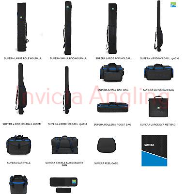 Brand New Preston Innovations Supera Luggage Complete Range Available