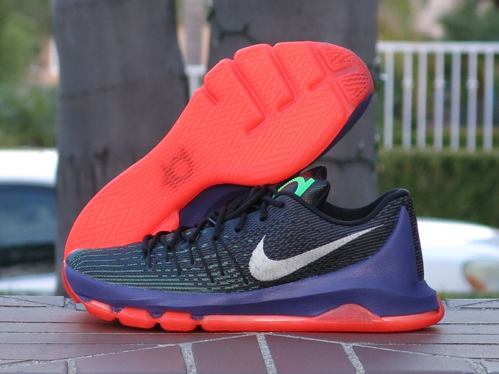 sale retailer ed4bc 952d3 Nike KD 8 VIII Vinary Men s Men s Men s Basketball Sneakers 749375-013  df5868