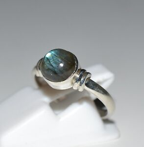 Labradorite-Silver-Ring-925-solid-sterling-silver-handmade-Bijoux-Taille-3-13-US