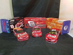 Dale-Earnhardt-Jr-8-BUDWEISER-1999-2003-2007-Nascar-Monte-Carlo-1-24-Set