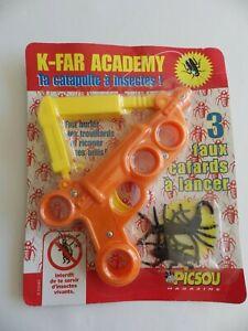 Jouet neuf Picsou magazine Disney vintage K-FAR ACADEMY catapulte à insecte