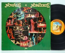 Novalis           Konzerte            Krautrock          NM # X
