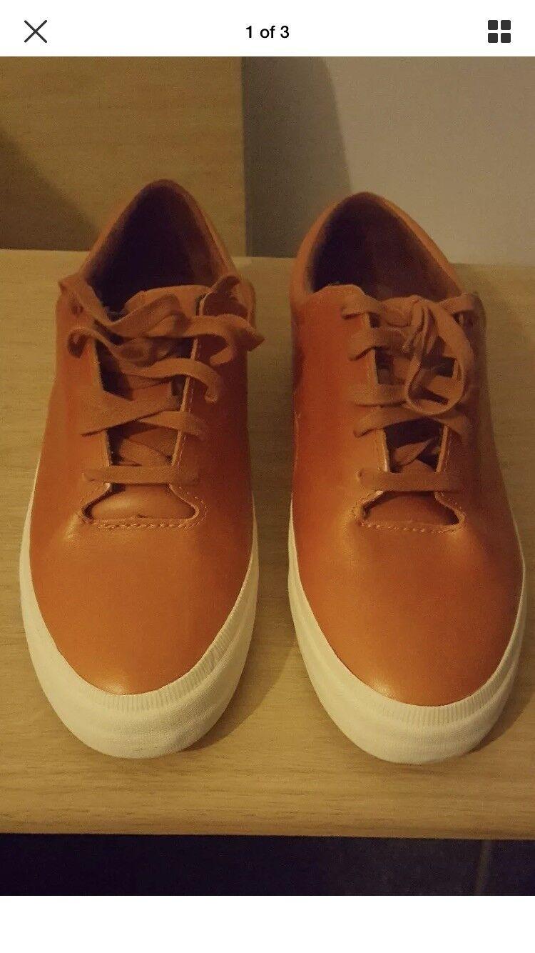 Supra Donavyn in Caramel leather. BNWB UK size 9