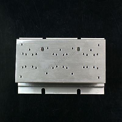2pcs 2.4x4.7inch Aluminum Alloy Heat Sink for 1W/3W/5W/10W/20W LED Silver White