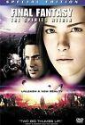 Final Fantasy: The Spirits Within (DVD, 2001, 2-Disc Set, Version)