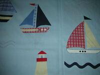 Pr Curtains In Laura Ashley Nautical Blue72 Drop