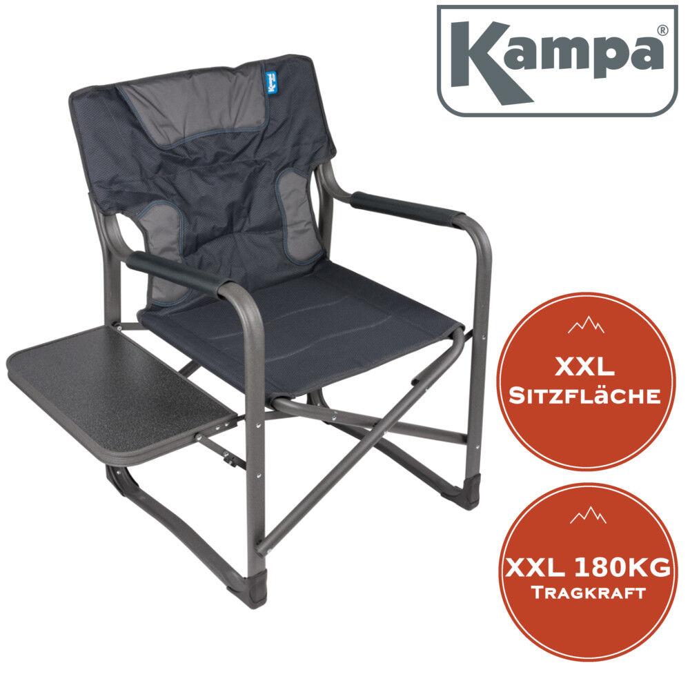 XXL Campingstuhl Campingstuhl Campingstuhl EXTRA breit Tragkraft 180KG Regiestuhl  Klappstuhl mit Tisch ccdecd