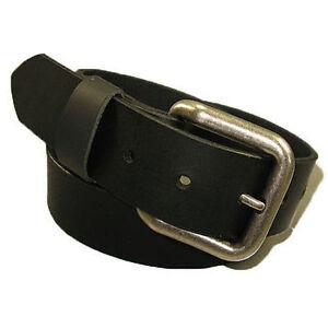 New-Mens-Handmade-Genuine-Solid-Buffalo-Leather-Belt