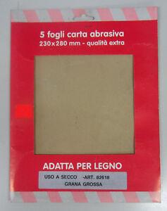 Oreca-carta-abrasiva-x-legno-5-fogli-230x280-mm-grana-grossa-82618-uso-a-secco