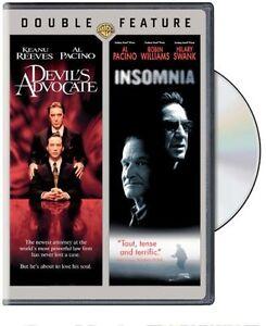 Devil's Advocate / Insomnia (DVD, 2007, Double Feature) Al Pacino